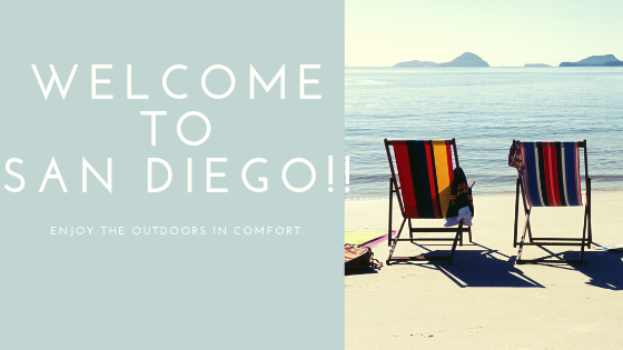 Welcome to San Diego!!